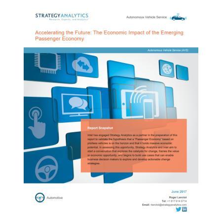 Accelerating the Future: The Economic Impact of the Emerging Passenger Economy