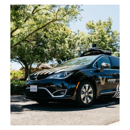 A Voyage automated vehicle at the Communities: The Villages San Jose
