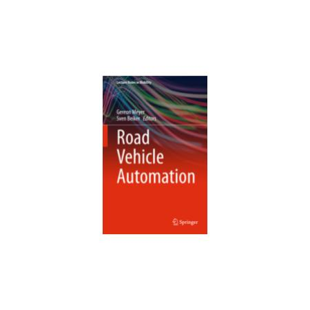 Road Vehicle Automation Lecture Notes Cover
