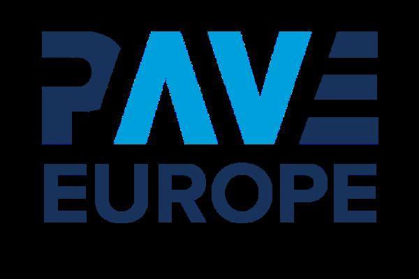 PAVE Europe Navy writing
